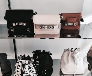 bag, fashion, and purse image