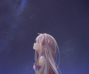 anime, emilia, and anime girl image