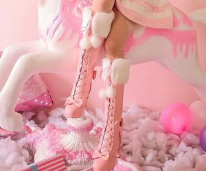 pink, sweet, and cute image