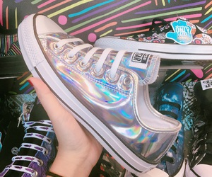 holographic, inspiration, and shoes image