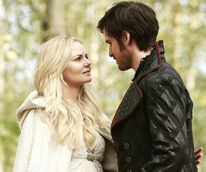 hook, emma swan, and killian jones image