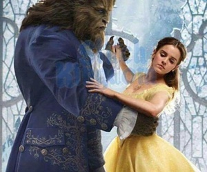 emma watson, disney, and beauty and the beast image