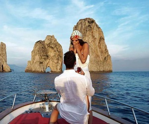 beautiful, summer, and couple image