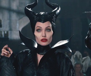maleficent, Angelina Jolie, and disney image