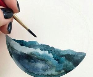 tumblr, watercolors, and art image