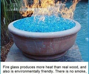 fire, glass, and awesome image