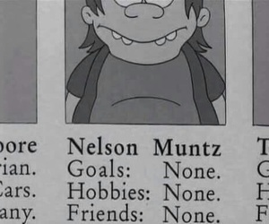 the simpsons, nelson, and simpsons image