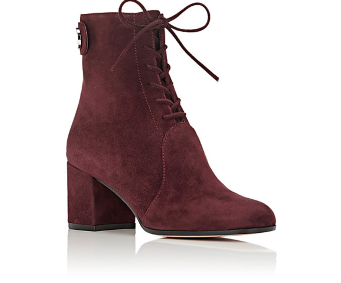 booties, boots, and burgundy image