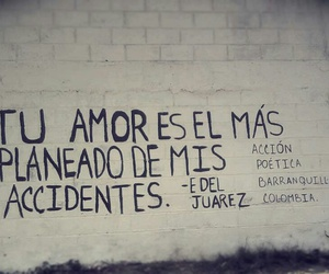 love, accion poetica, and accident image