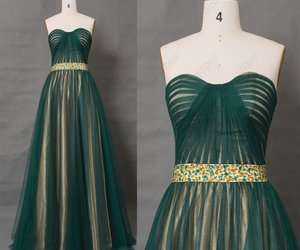 beaded, elegant, and evening gown image