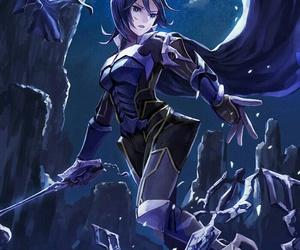 aqua, anime girl, and kingdom hearts image