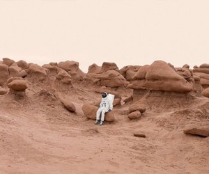 astronaut, space, and photography image