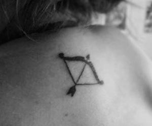 Sagittarius, Tattoos, and zodiac sign image