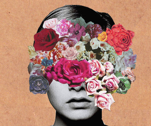 flowers, twiggy, and art image