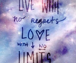 galaxy and quotes image