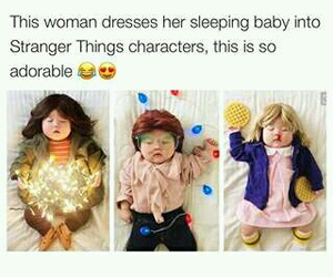 funny, stranger things, and cute image
