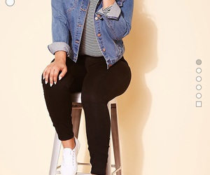 forever 21, jean jacket, and outfits image