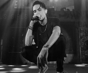 g-eazy, b&w, and black and white image