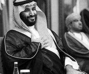 arab, black and white, and arabic image