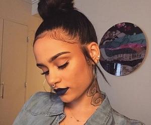 kehlani, tattoo, and makeup image