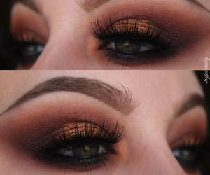 copper, fall, and makeup image