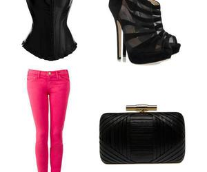 jeans, shoes, and ^^ image
