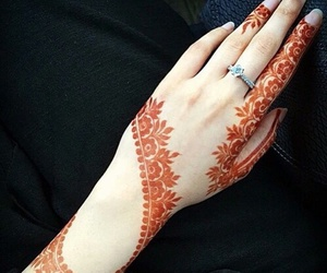 henna, beautiful, and mehendi image