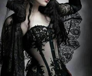 gothic, dark, and model image