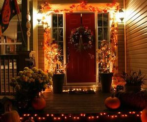 Halloween, autumn, and decoration image