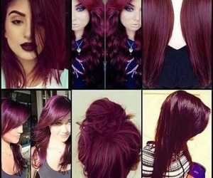 hair, red, and color image