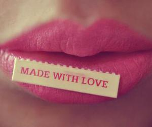 girl, lips, and cute image