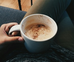 coffee, fall, and friday image