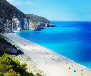beach, vlore, and Greece image