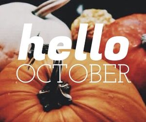 hello, october, and we heart it image