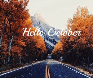 fall, inspiration, and october image