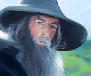 gandalf, ian mckellen, and lord of the rings image