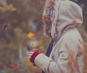 hijab and winter image