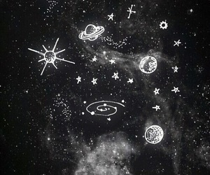 stars, galaxy, and wallpaper image
