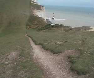 uk, eastbourne, and thesevensisters image
