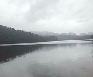 cloudy, lake, and photography image