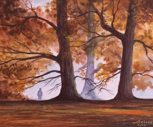 art, autumn, and picture image