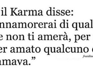 amore, karma, and schifo image