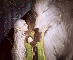 elf, fantasy, and dragon age image