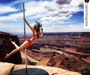 dance, pole dance, and beautifull places image