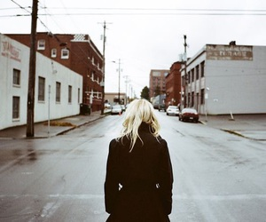 blonde and town image