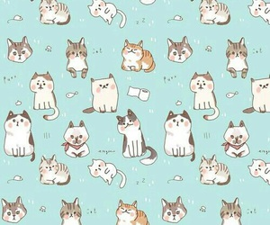 cat, pattern, and patterns image