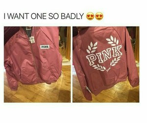 pink, bomber, and jacket image