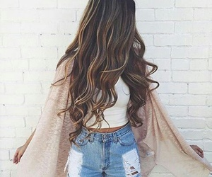 hair, fashion, and outfits image