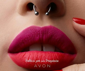 avon, piercing, and septum image