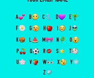 name, your, and emoji image